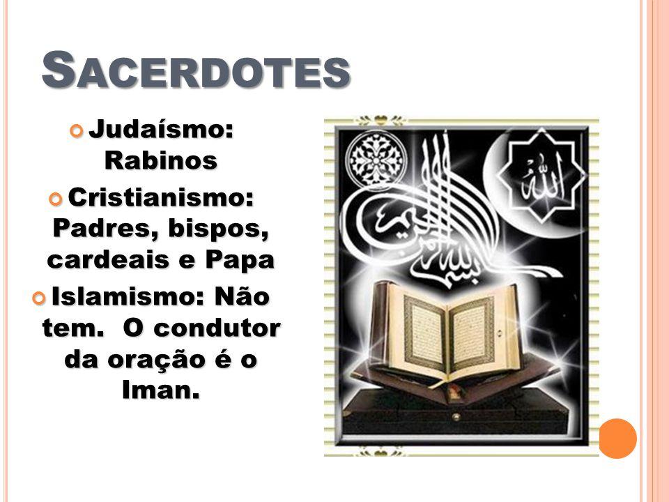 Sacerdotes Judaísmo: Rabinos