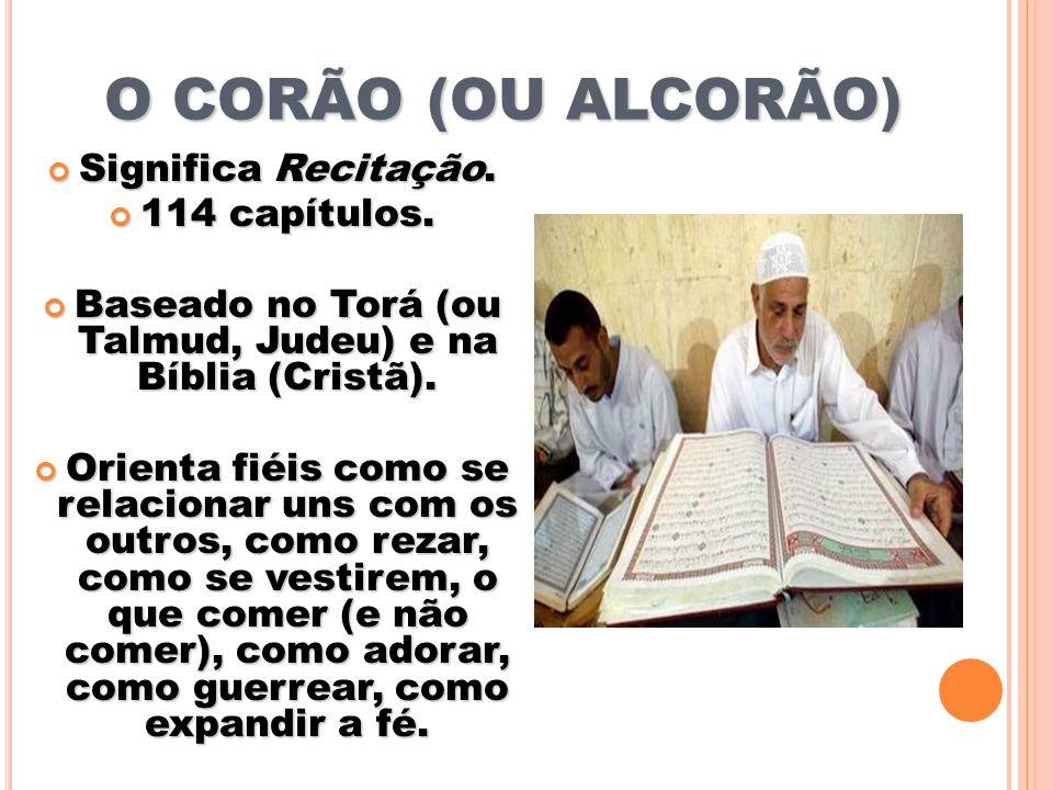 Baseado no Torá (ou Talmud, Judeu) e na Bíblia (Cristã).