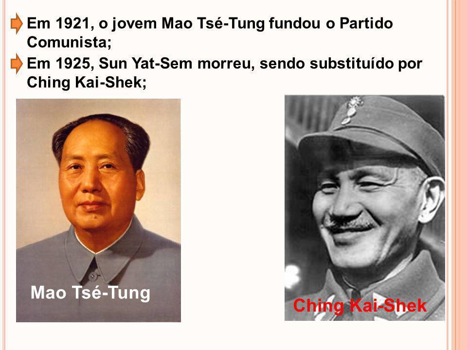 Mao Tsé-Tung Ching Kai-Shek