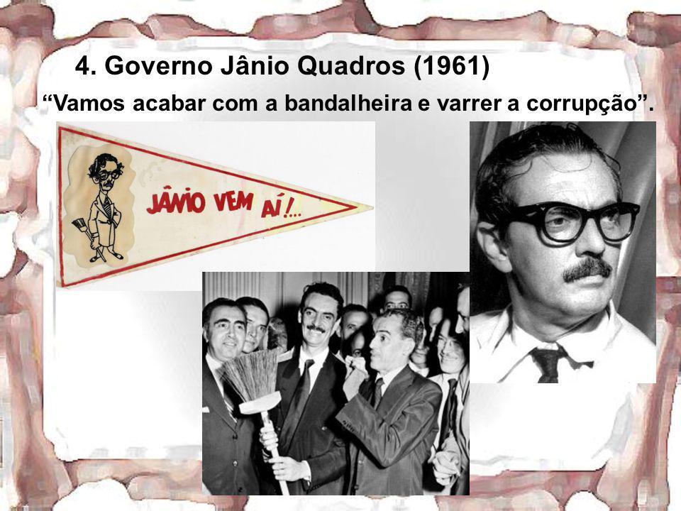 4. Governo Jânio Quadros (1961)