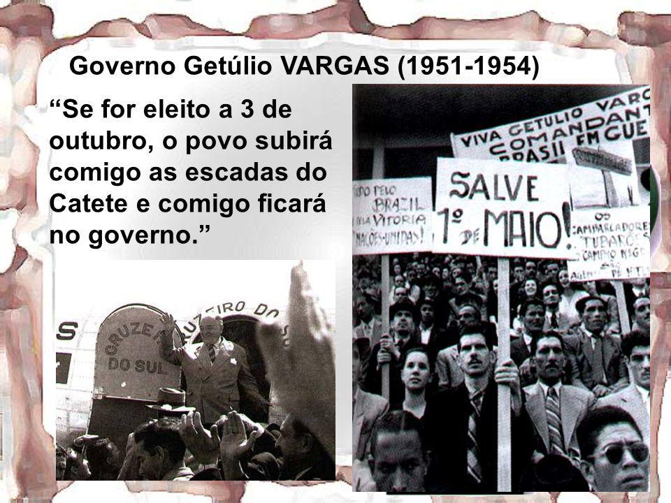 Governo Getúlio VARGAS (1951-1954)
