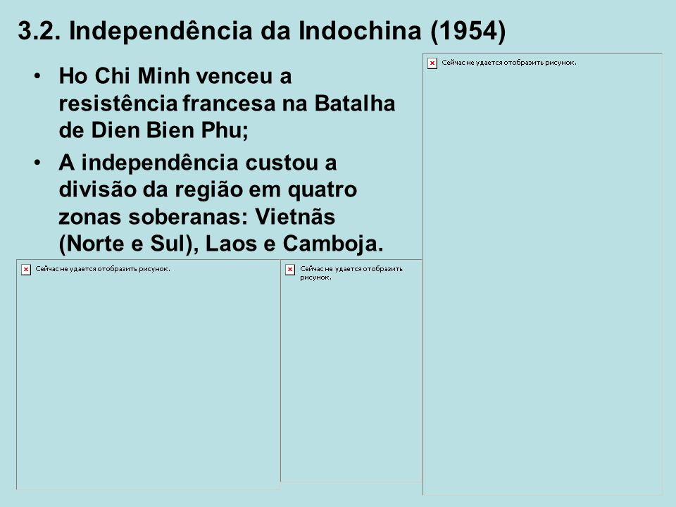 3.2. Independência da Indochina (1954)