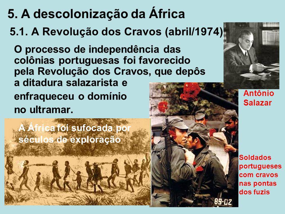 5.1. A Revolução dos Cravos (abril/1974)