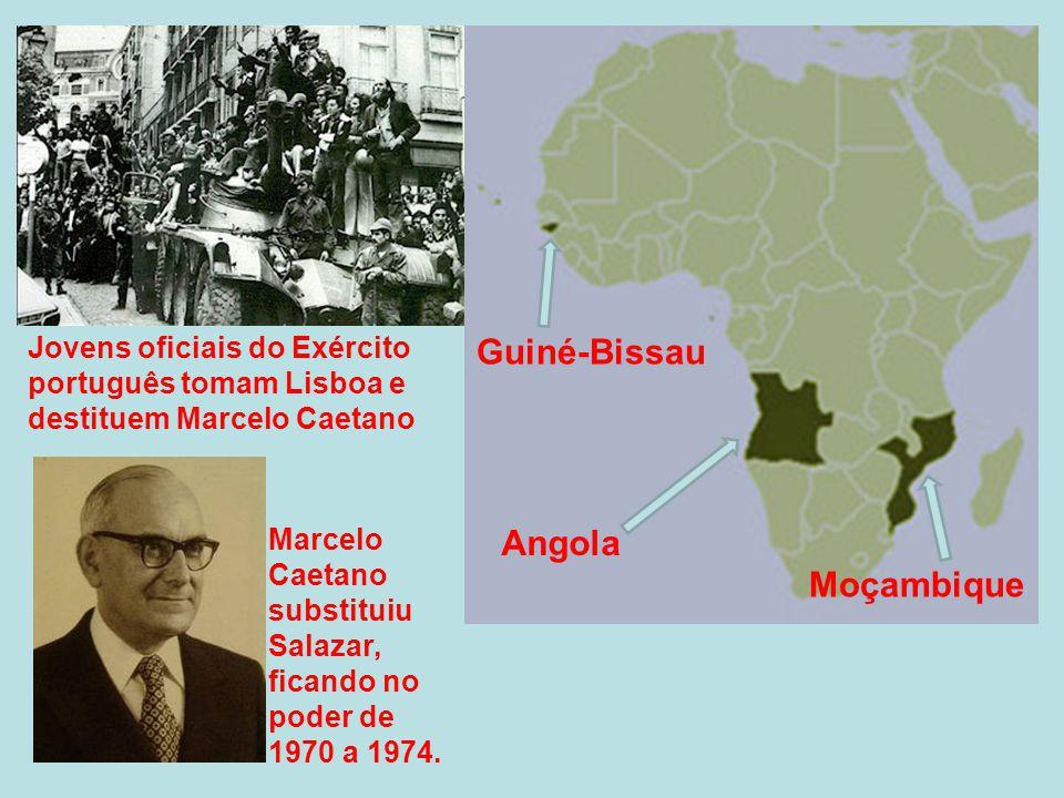 Guiné-Bissau Angola Moçambique