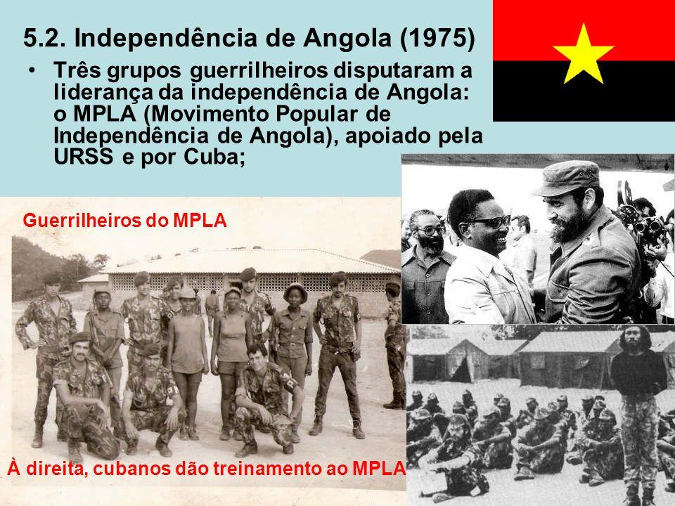 5.2. Independência de Angola (1975)