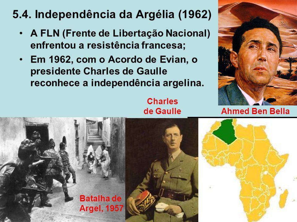 5.4. Independência da Argélia (1962)