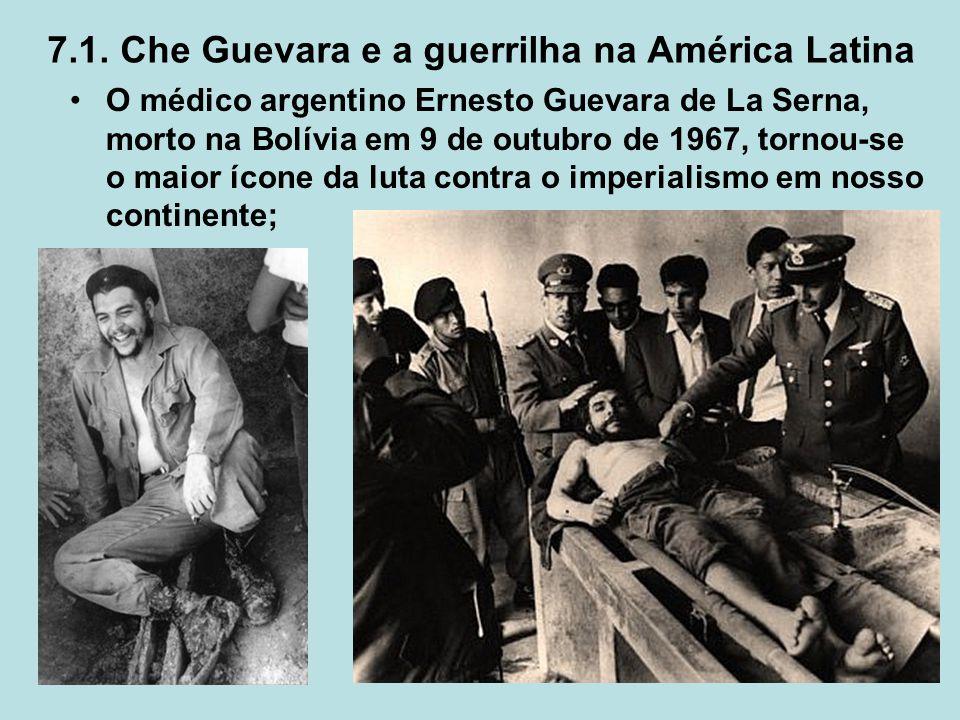 7.1. Che Guevara e a guerrilha na América Latina