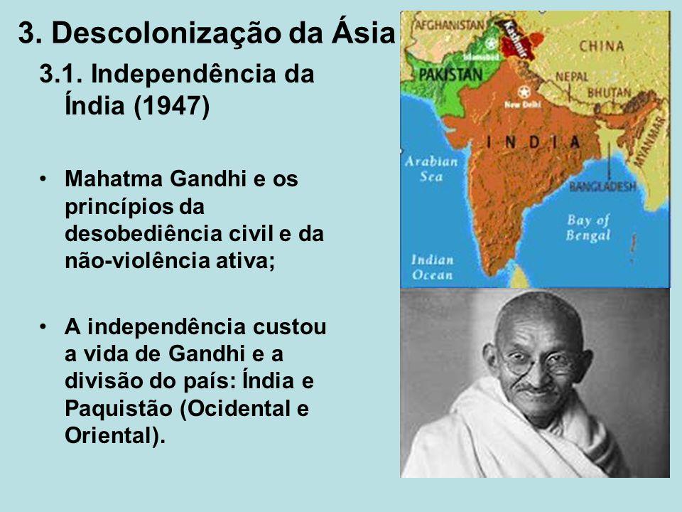 3. Descolonização da Ásia