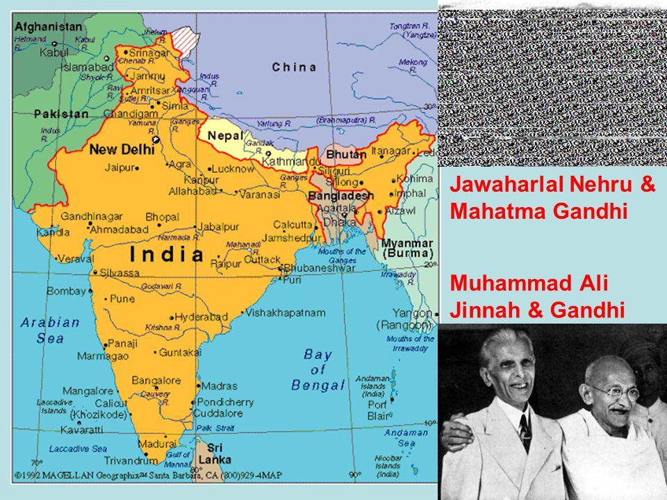 Jawaharlal Nehru & Mahatma Gandhi