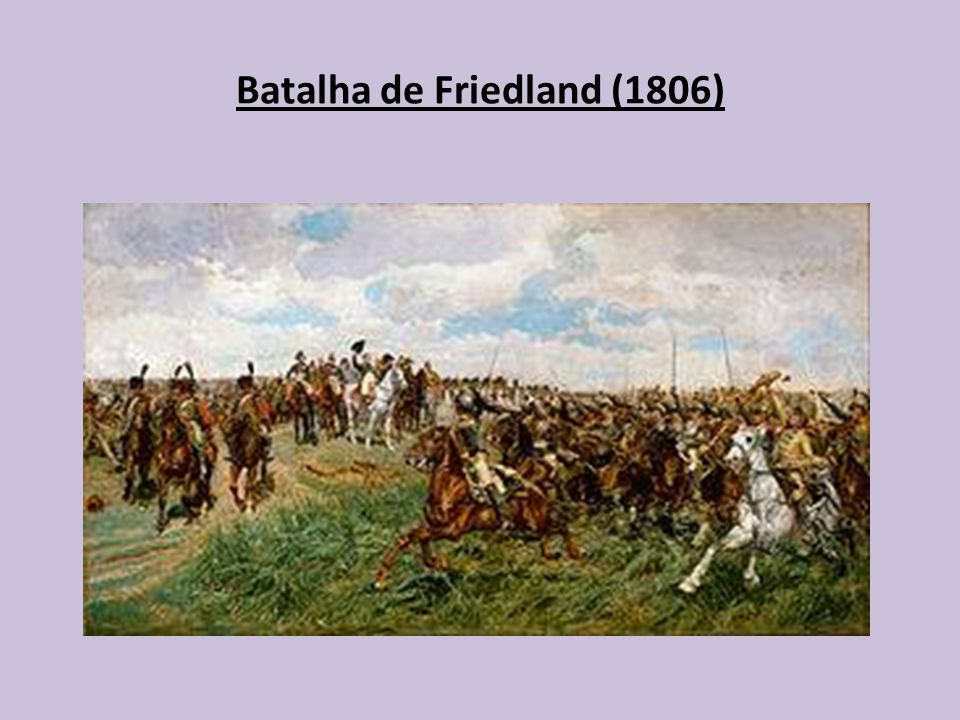 Batalha de Friedland (1806)