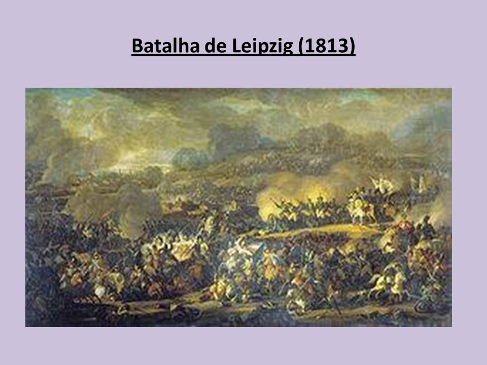 Batalha de Leipzig (1813)