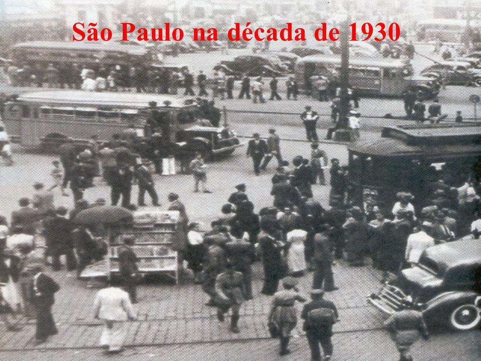 São Paulo na década de 1930