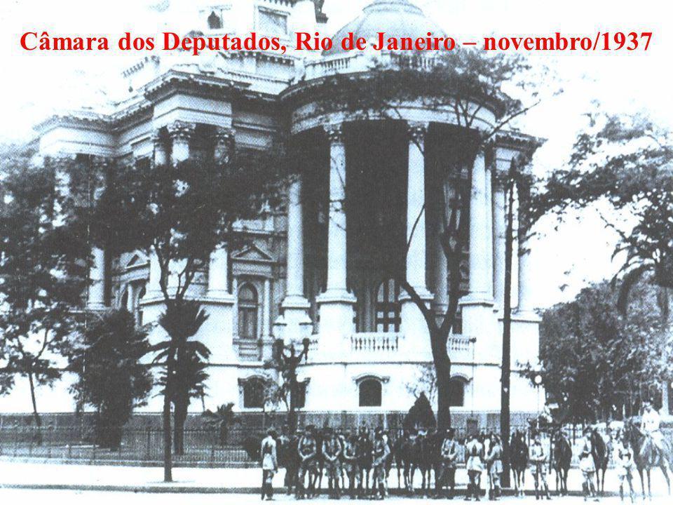 Câmara dos Deputados, Rio de Janeiro – novembro/1937