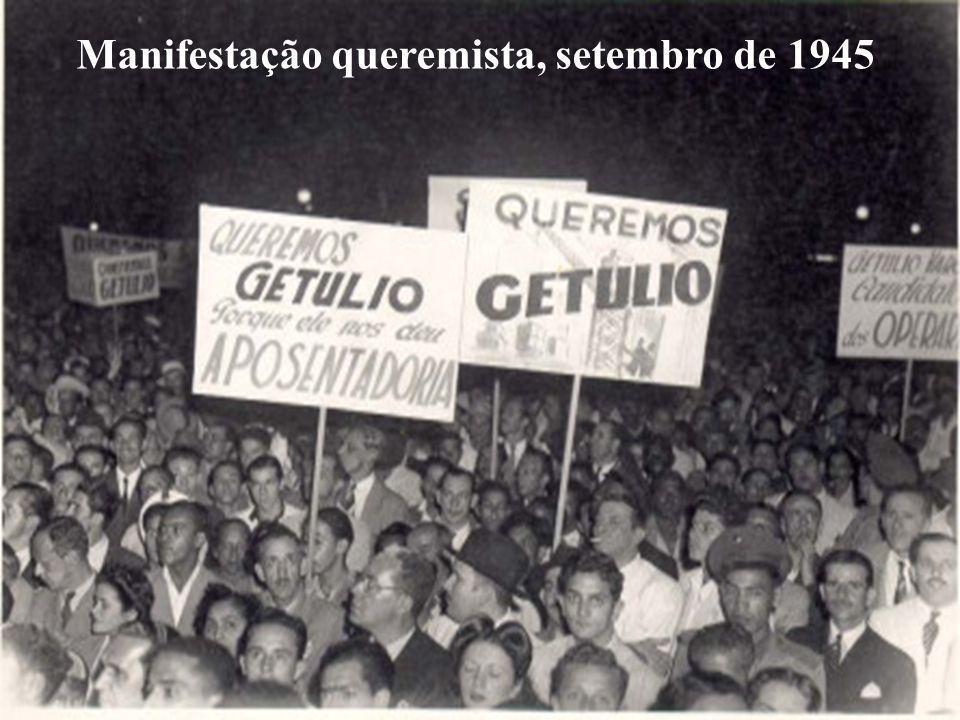 Manifestação queremista, setembro de 1945