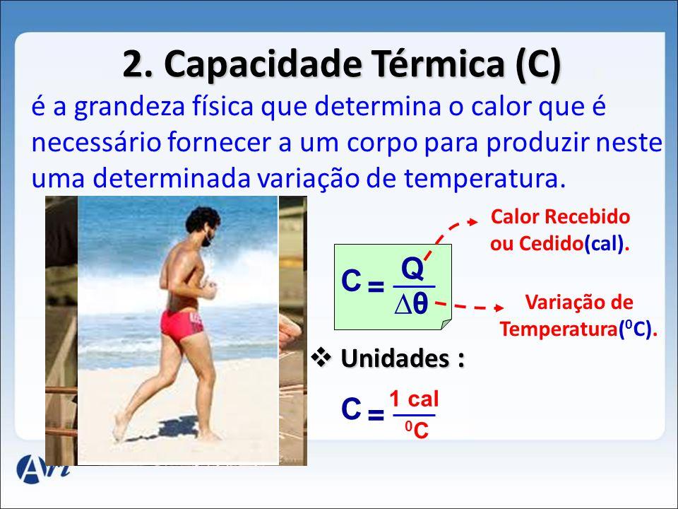 2. Capacidade Térmica (C)