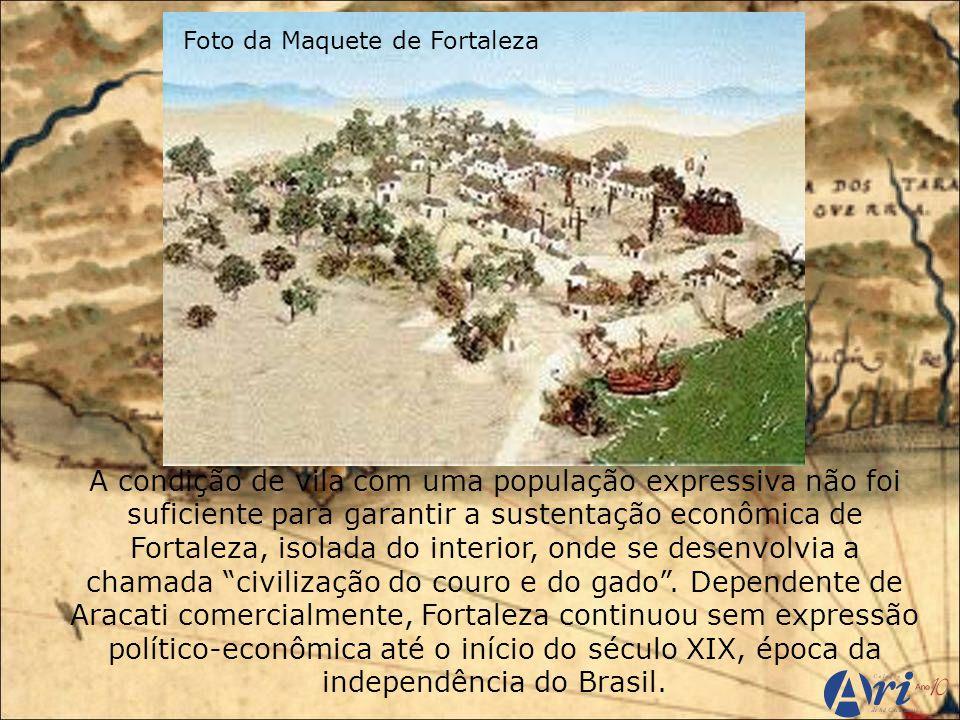 Foto da Maquete de Fortaleza