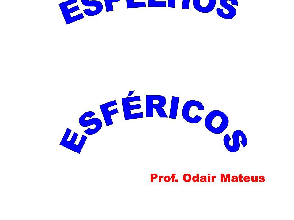 ESPELHOS ESFÉRICOS Prof. Odair Mateus Prof. Odair Mateus