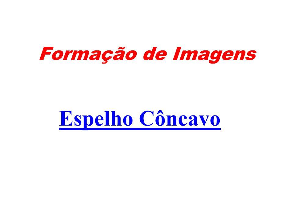 Formação de Imagens Espelho Côncavo