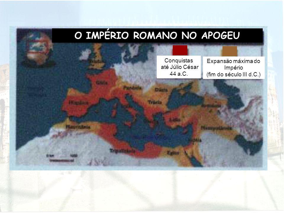 O IMPÉRIO ROMANO NO APOGEU