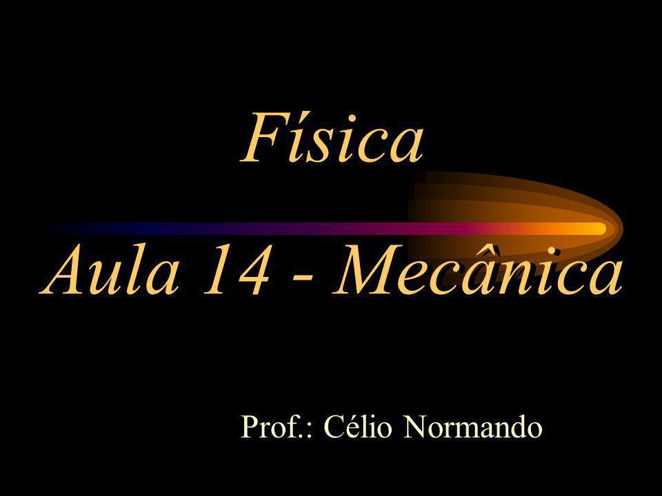 Física Aula 14 - Mecânica Prof.: Célio Normando