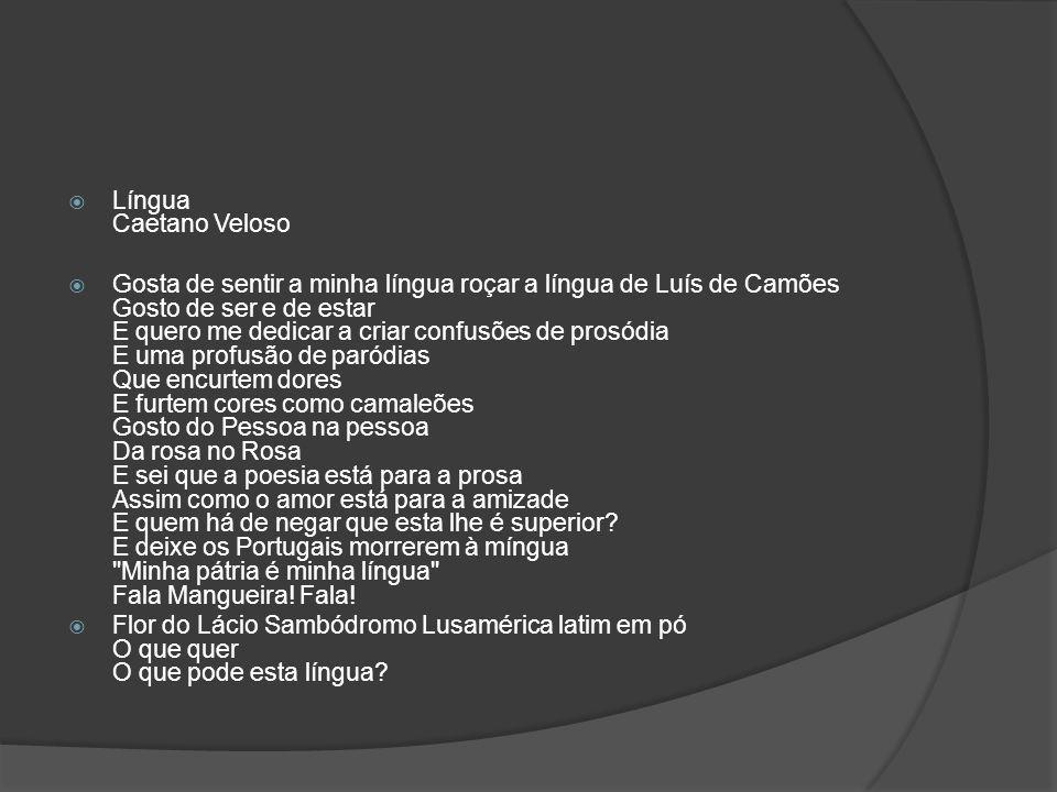 Língua Caetano Veloso