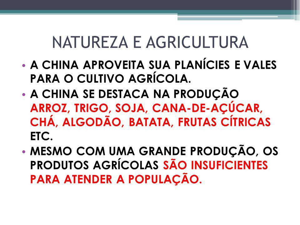 NATUREZA E AGRICULTURA