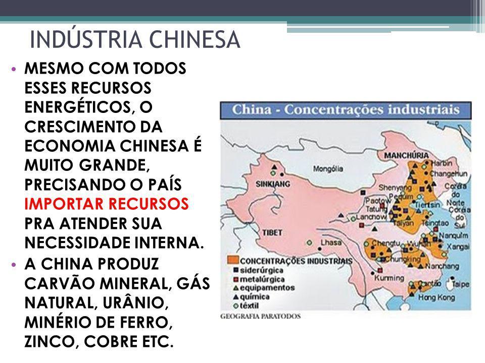 INDÚSTRIA CHINESA