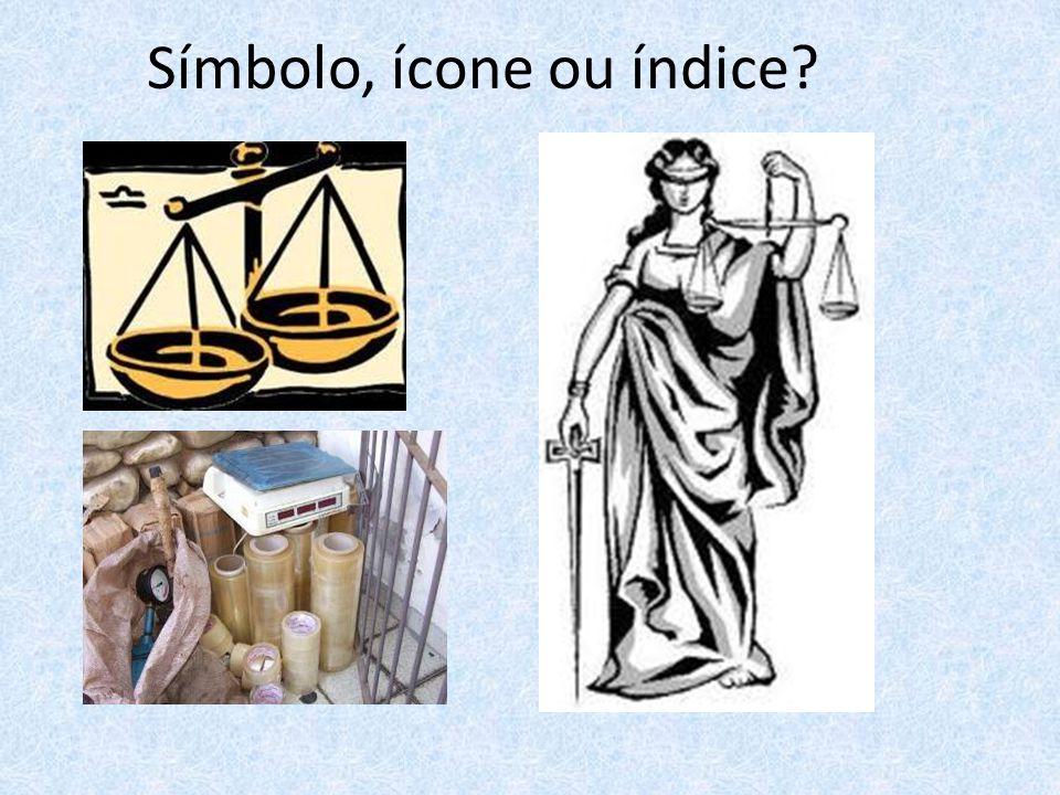 Símbolo, ícone ou índice