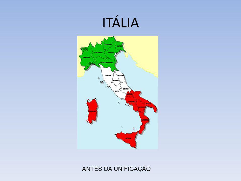ITÁLIA ANTES DA UNIFICAÇÃO
