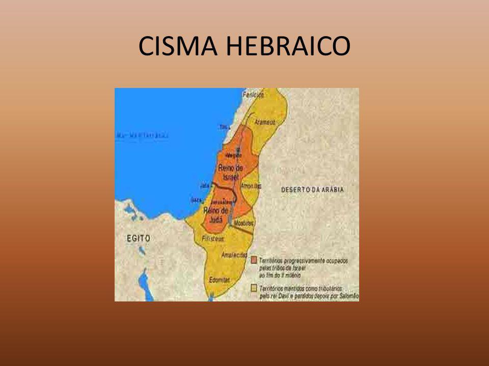 CISMA HEBRAICO