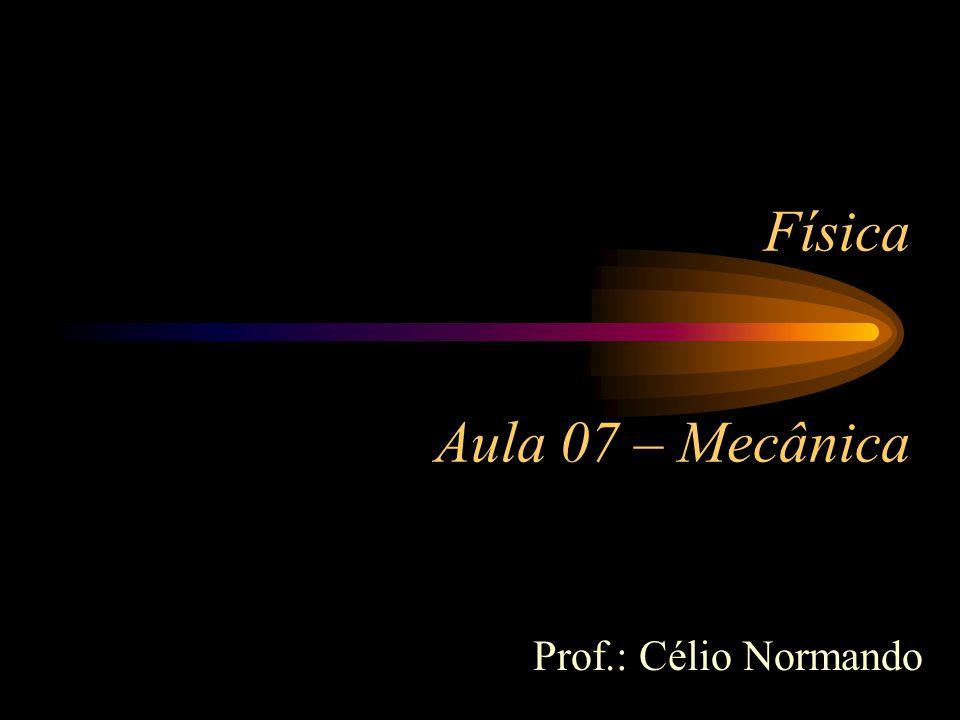 Física Aula 07 – Mecânica Prof.: Célio Normando