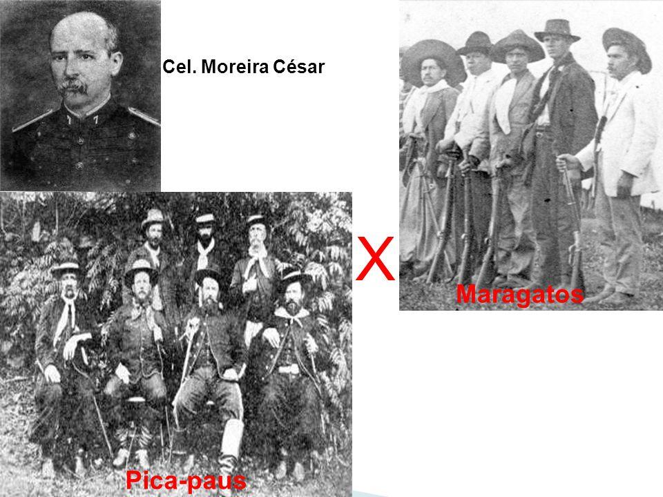 Cel. Moreira César X Maragatos Pica-paus