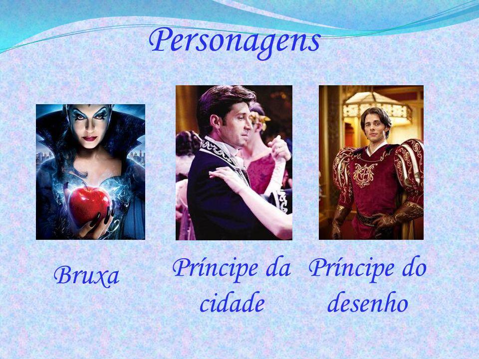 Personagens Príncipe da cidade Príncipe do desenho Bruxa