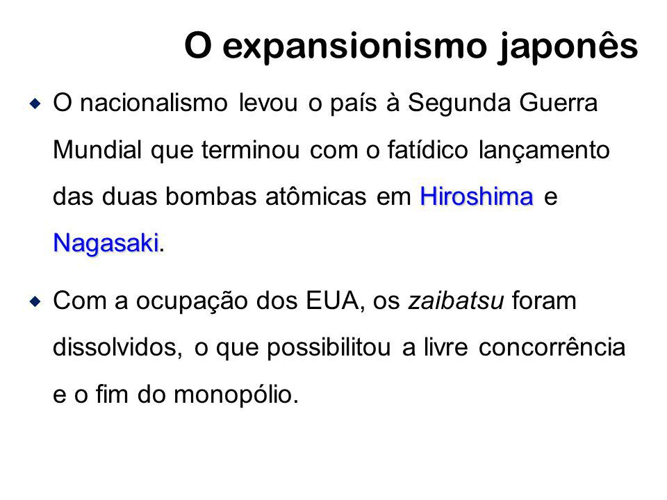 O expansionismo japonês