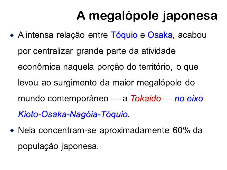A megalópole japonesa