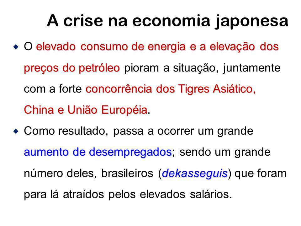 A crise na economia japonesa
