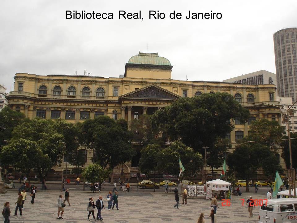 Biblioteca Real, Rio de Janeiro