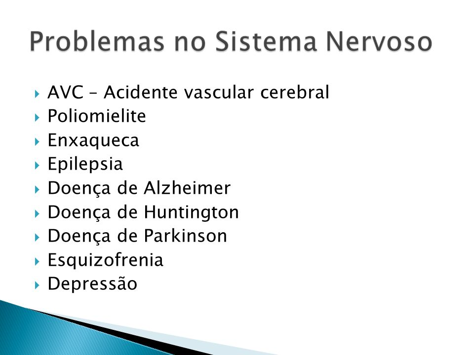 AVC – Acidente vascular cerebral