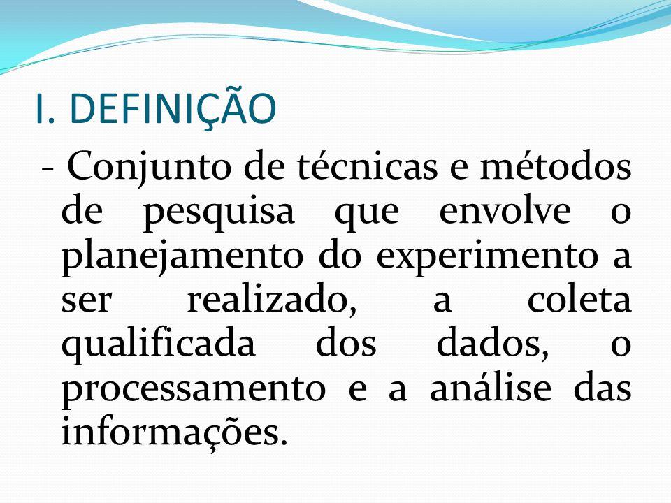 I. DEFINIÇÃO