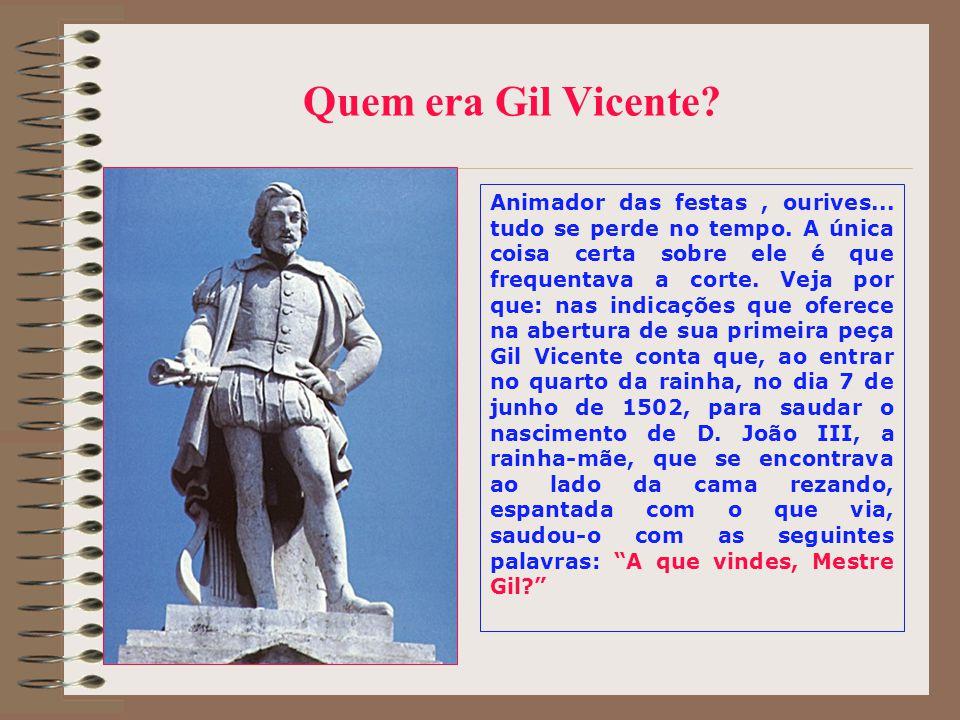 Quem era Gil Vicente