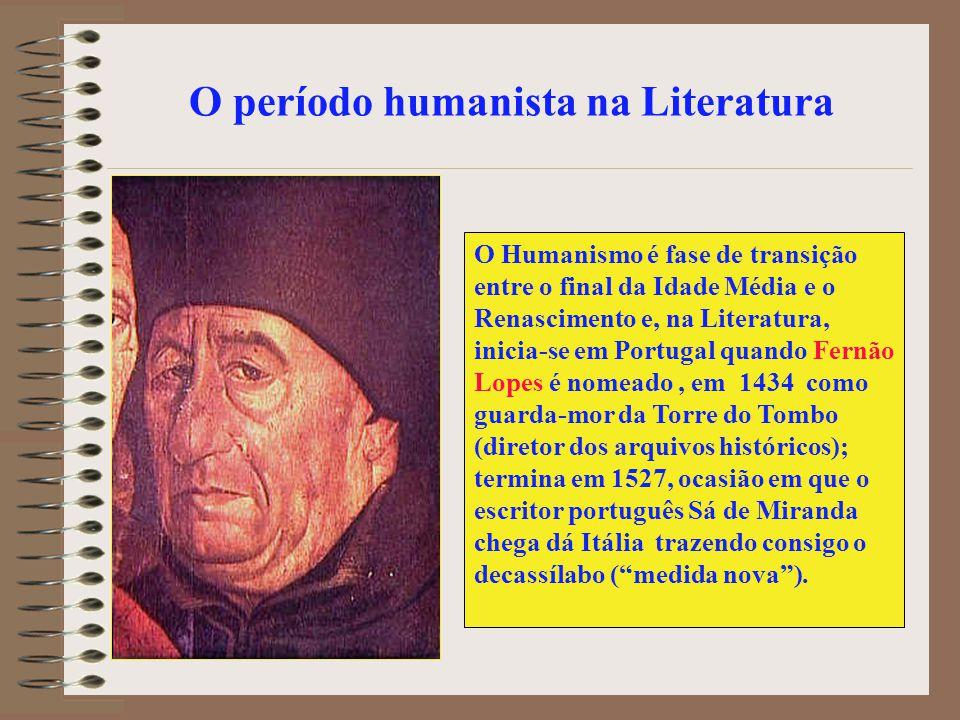 O período humanista na Literatura
