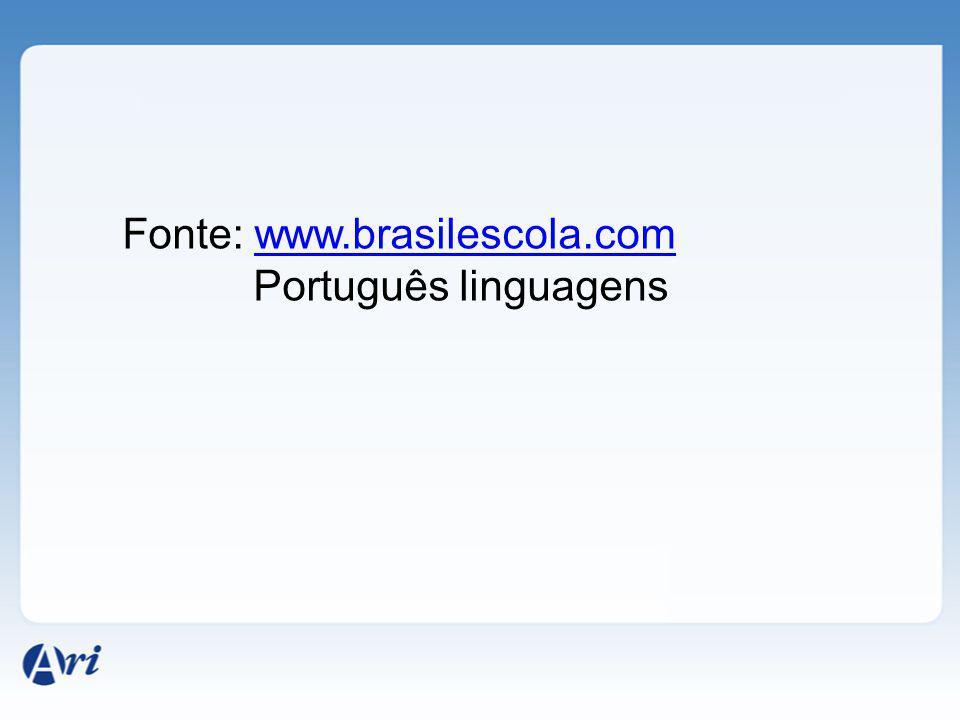 Fonte: www.brasilescola.com