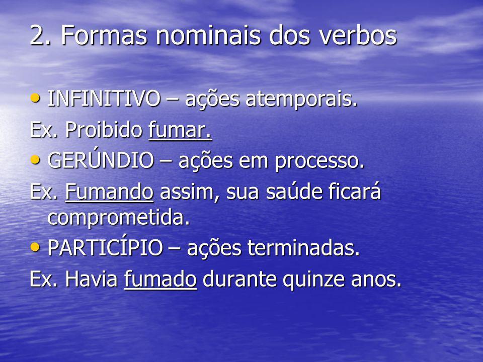 2. Formas nominais dos verbos