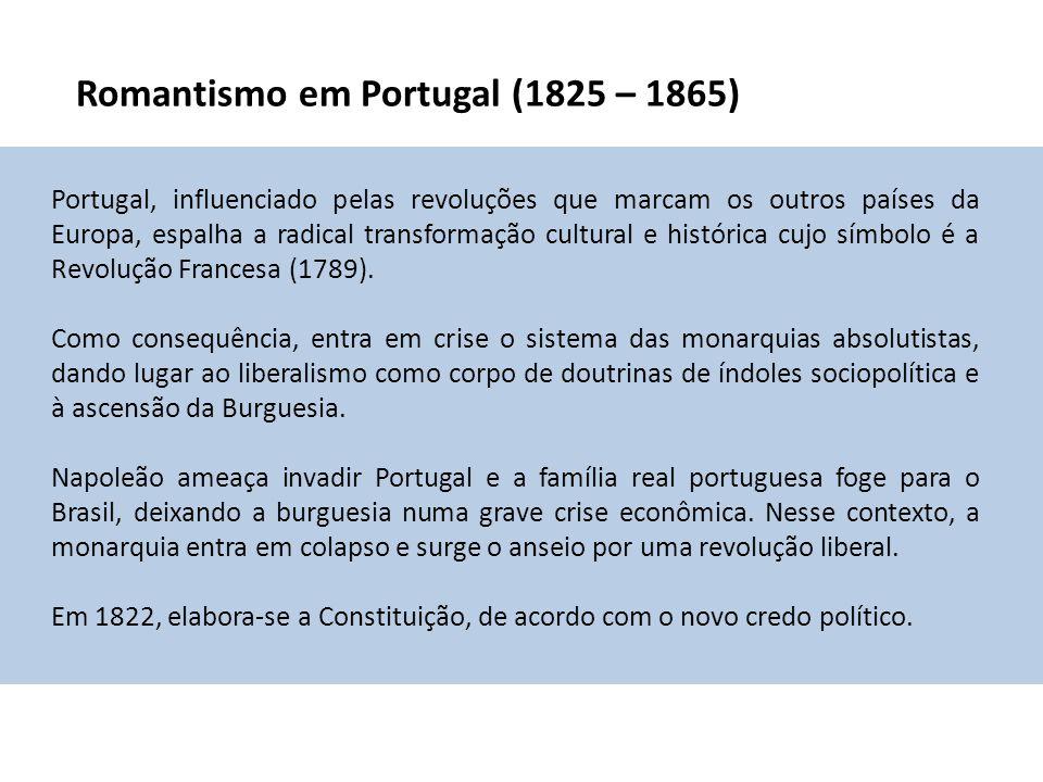 Romantismo em Portugal (1825 – 1865)