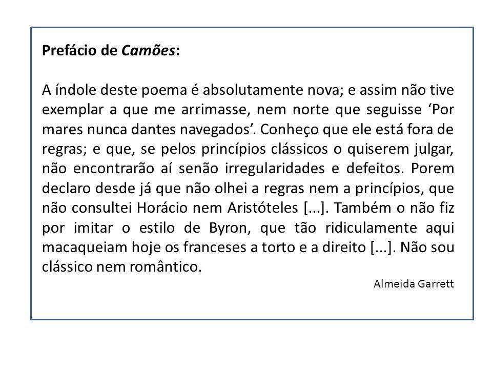 Prefácio de Camões: