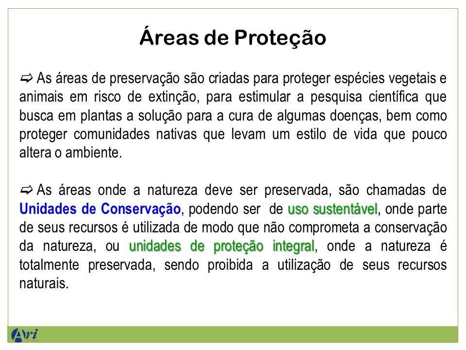 Áreas de Proteção