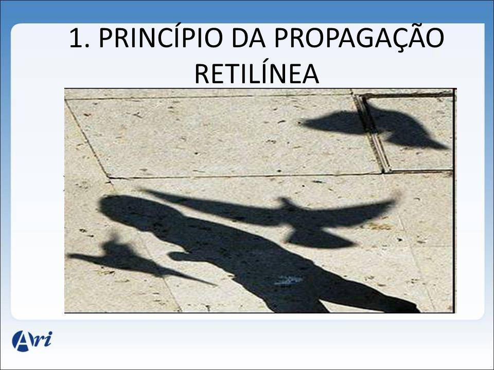 1. PRINCÍPIO DA PROPAGAÇÃO RETILÍNEA
