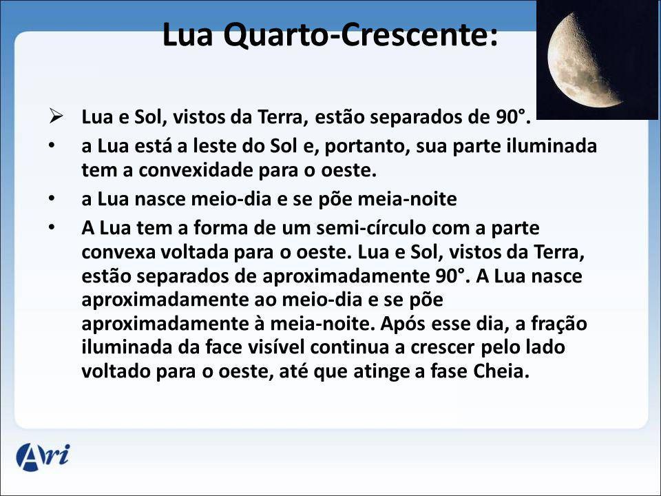 Lua Quarto-Crescente: