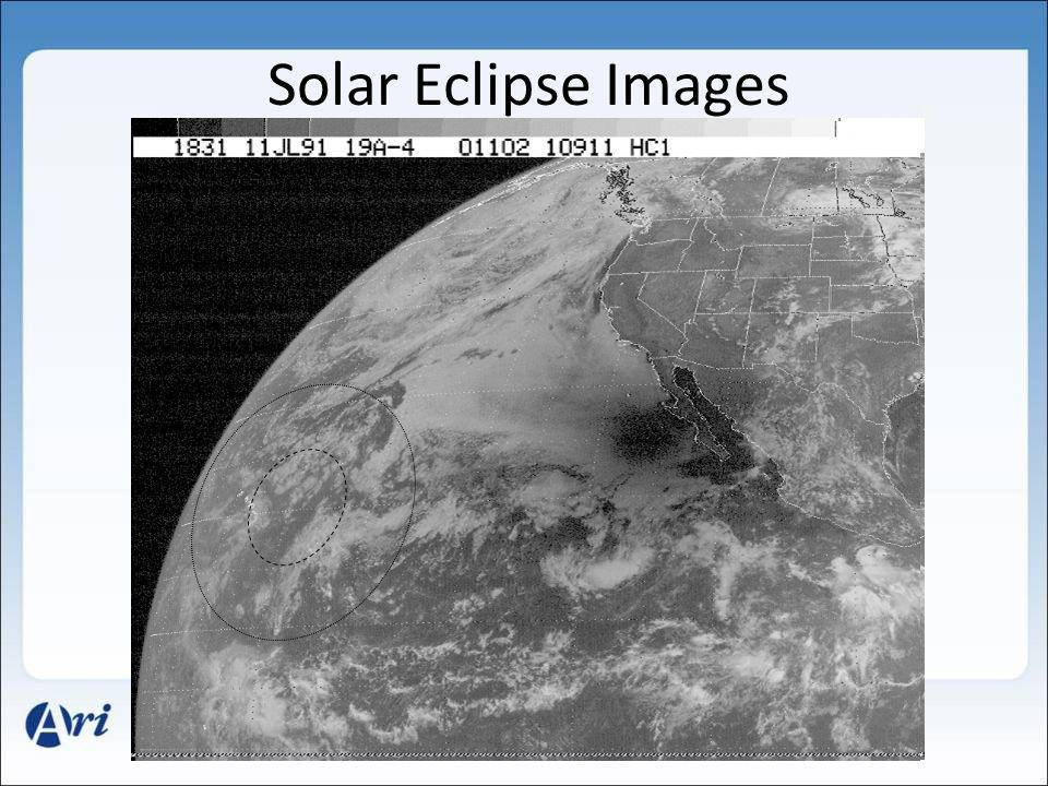 Solar Eclipse Images