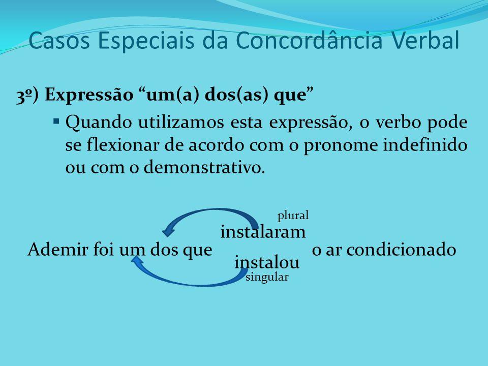 Casos Especiais da Concordância Verbal